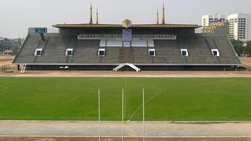 VIP seats at the Olympic Stadium.