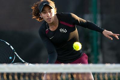 FSU W Tennis v USF Jan. 2014
