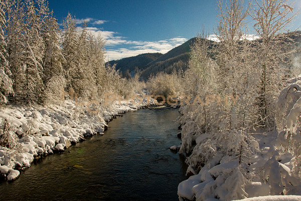 South Fork CDA River in Osburn, Idaho