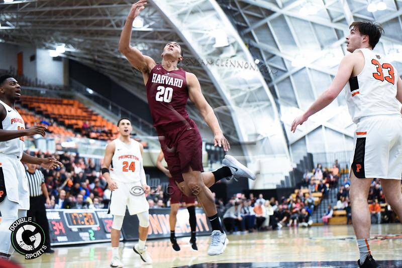 Princeton vs Harvard Mens Basketball