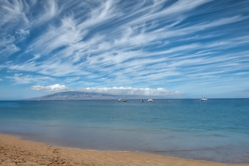 Painting Clouds off Kaanapali