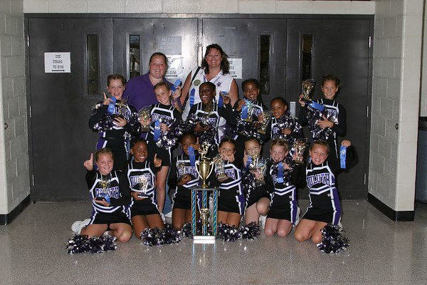 1st Place 4th Grade Cheer-off Champions