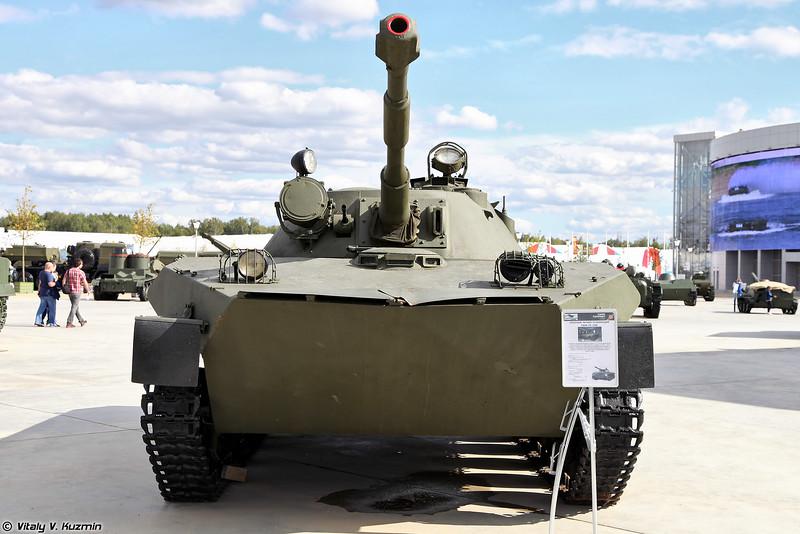 Опытный легкий плавающий танк ПТ-76М (Experimental light amphibious tank PT-76M)