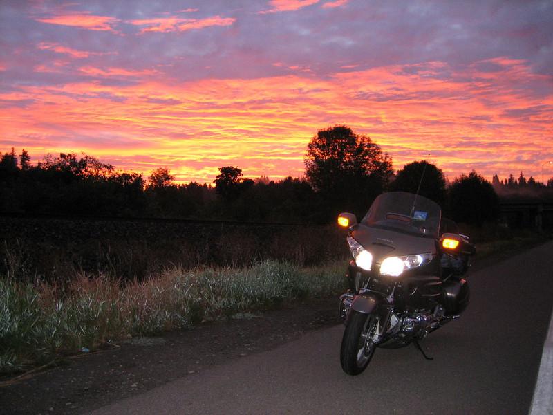 Dawn of DRY SIDE RIde 2008!
