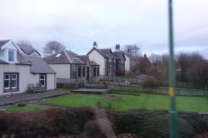 Road from Gretna to Edinburgh, Scotland