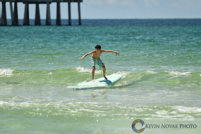 August 20, 2016. Autism Surfs, Panama City Beach County Pier.  © 2016 Kevin Novak.