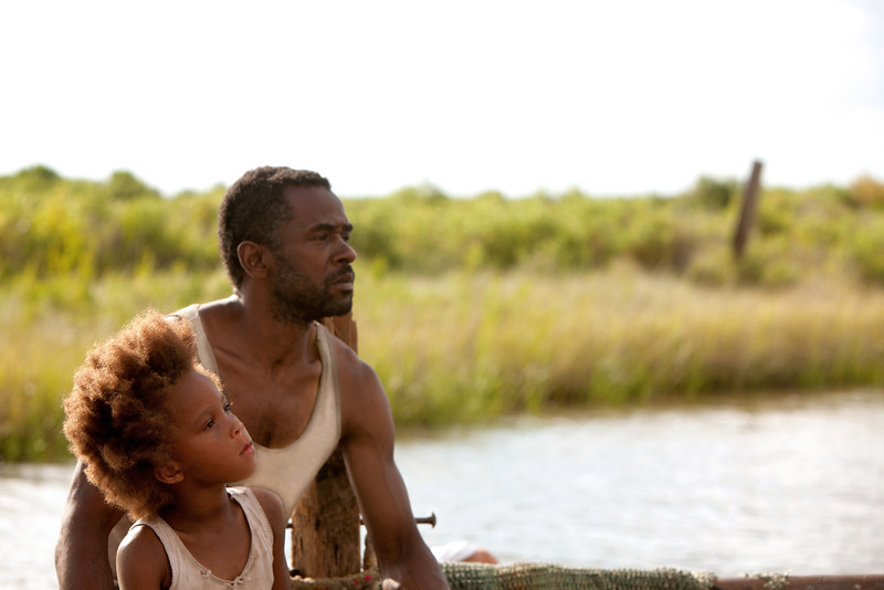 ". Quvenshane Wallis and Dwight Henry portray Hushpuppy and her dad, Wink, in ""Beasts of the Southern Wild.\"" Photo Mary Cybulski/Provided by Fox Searchlight Pictures."