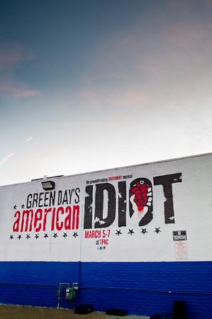 2013.01.11 American Idiot Graffiti