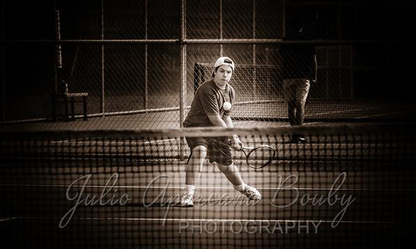 160419 MHS Boys Tennis vs NBHS