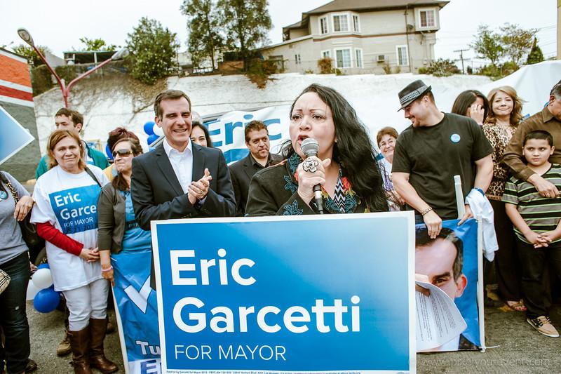Eric Garcetti Rally - Boyle Heights 2013