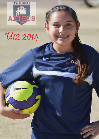 2014 Tucson Aztecs Fixed U12 G