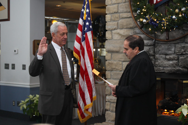 December 30, 2017. Swearing In Ceremony of Mayor Jim Forthofer  in Vermilion.