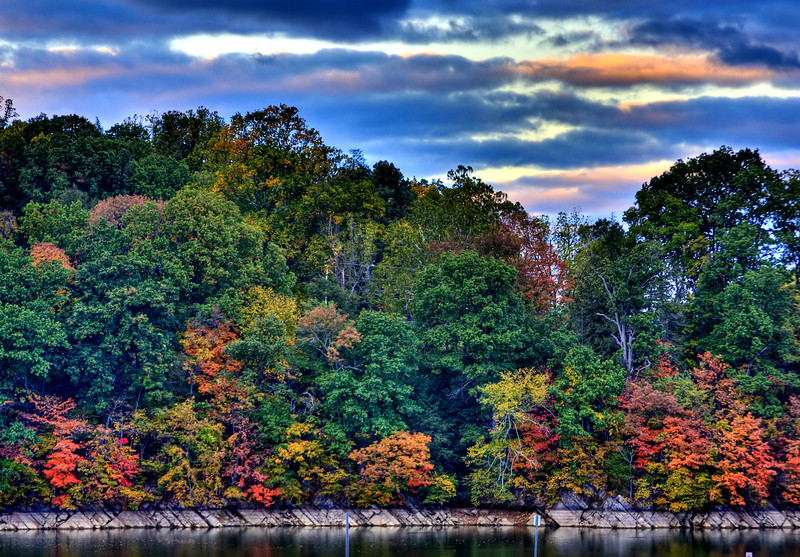 Nature - Boone Lake Fall HDR - JRL.jpg