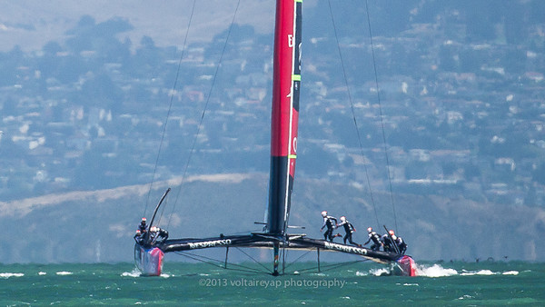 Team New Zealand - Louis Vuitton Cup