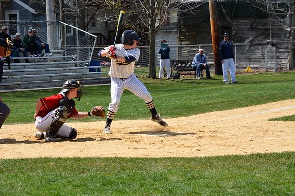 AWHS vs. Hingham-Baseball 4-19-17