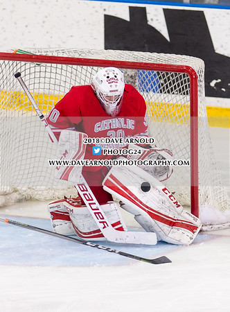 1/28/2018 - Boys Varsity Hockey - Catholic Memorial vs BC High
