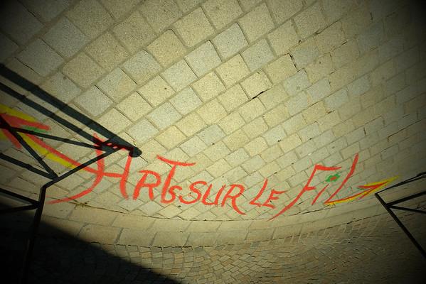 Street art to the duc d'Alençon