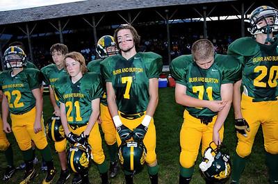2012 Varsity Football vs Bellows Falls photos by Gary Baker