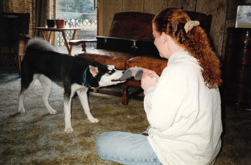 Clea and Lisa playing tug-of-war.jpg
