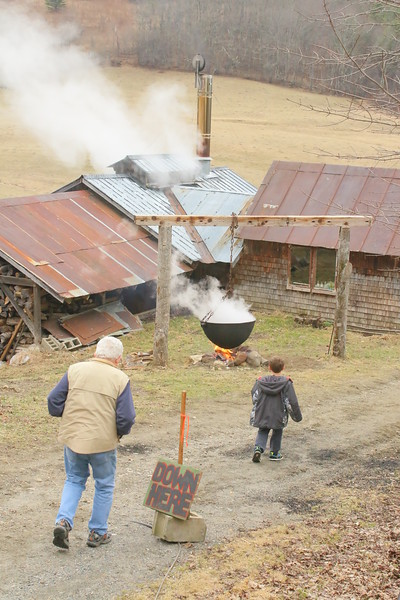 Maple Sugaring, Doten Farm