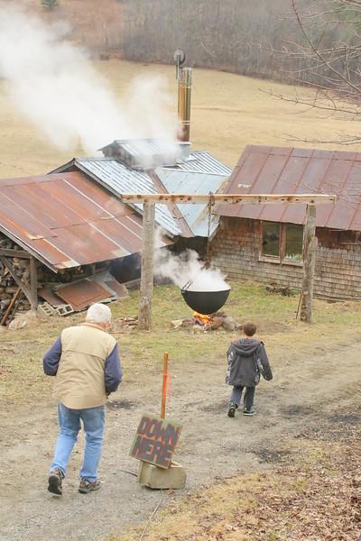 Maple Sugaring, Doten Farm