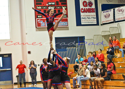 Cheer Competition at MHS 2014