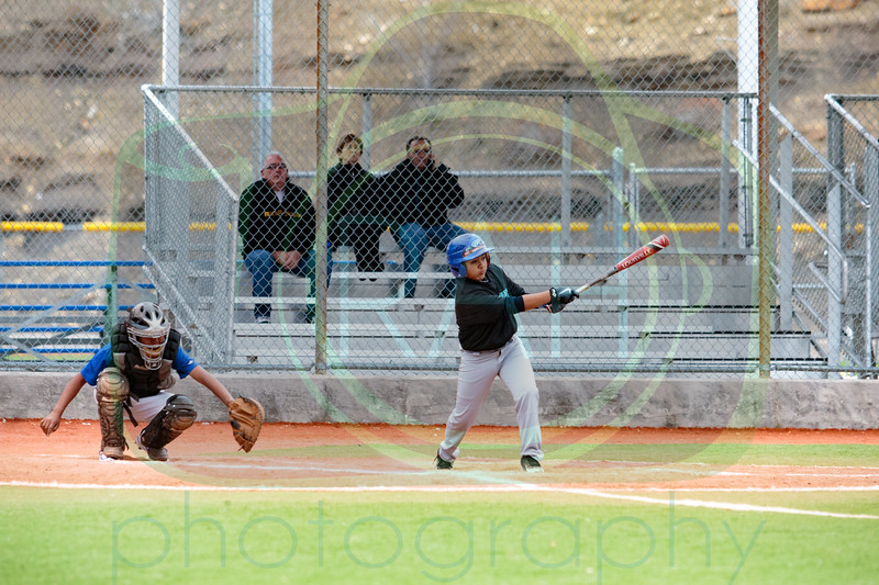 Gallup Mid vs Chief Boys B Team Baseball 3-27-17