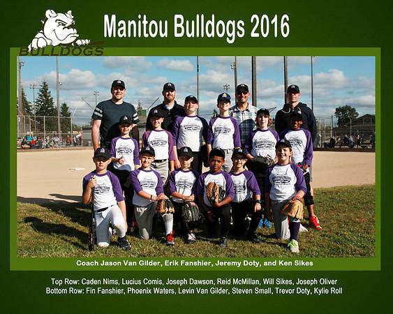 Manitou Bulldogs 16