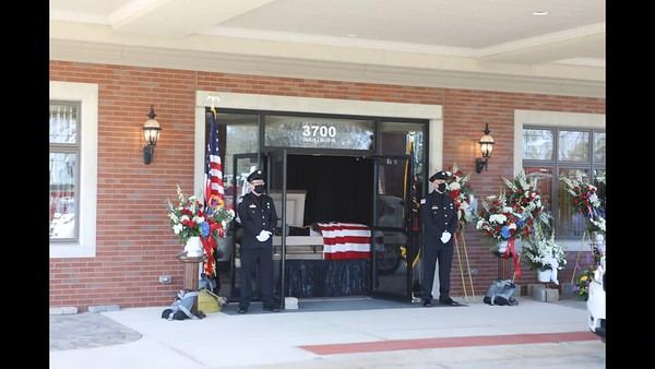 Lincolnshire Riverwoods Fire Department Funeral For FF/PM Mark Amore