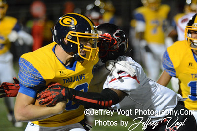 10-25-2013 Gaithersburg HS vs Quince Orchard HS Varsity Football, Photos by Jeffrey Vogt Photography