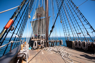 Sailing on a Spanish Galleon