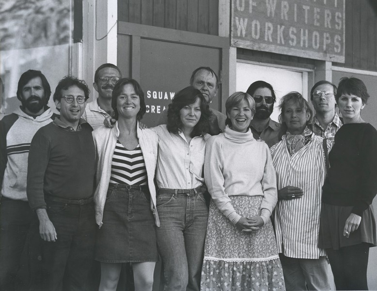 1982 - group photo 3 - Harold Schneider (glasses far left) & Judy (next to Harold).jpeg
