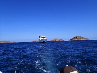 Galapagos Day 2 - Snorkel Chinese Hat