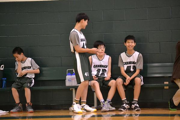 Reserve Basketball 1/10/15