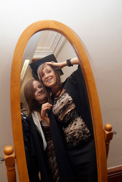 Laura Purcell, Gaulsmills, Kilmacow, Co. Kilkenny and Sarah O'Connor, Skibbereen Lawn, Lismore Heights, Waterford who were both conferred with Bachelor of Business (Honours) at Waterford Institute of Technology.  (pic-Photozone)