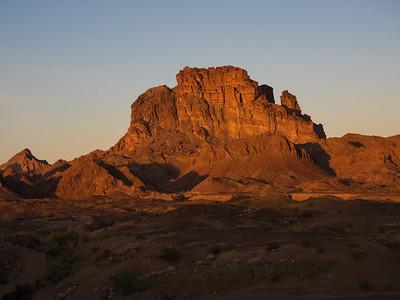Picacho Peak - California, North of Yuma, AZ  2.14.15
