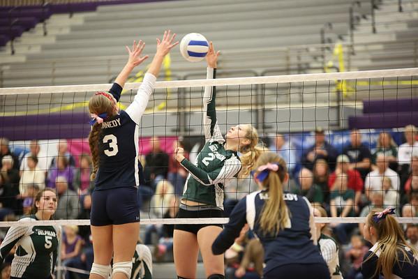 Volleyball State Playoffs vs Kennedy
