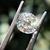 2.13ct Antique Cushion Cut Diamond GIA K SI1 19