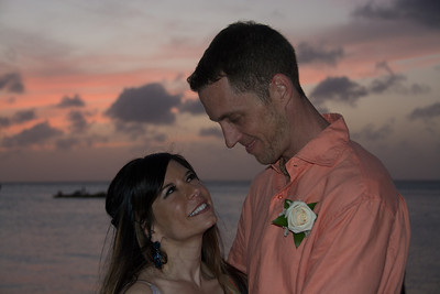 Mary and Gavan's Aruba Wedding