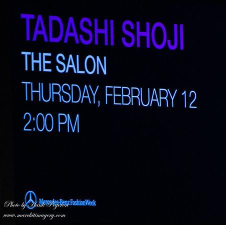 MBFW - Tadashi Shoji