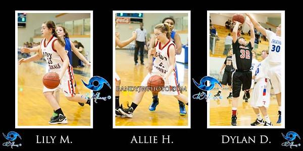 Prentiss County Jr. High Tournament - Day 1