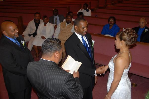 Deborah & Reuben Wedding March 14, 2008