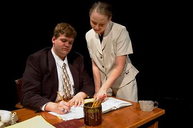David & Lisa - QHS Spring Play 2009