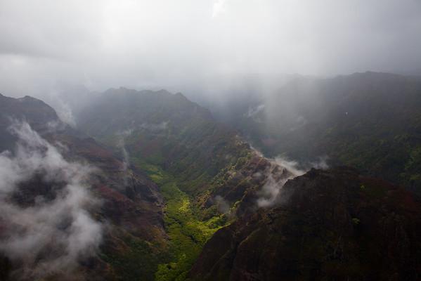 Kauai Helicopter Tour 2015