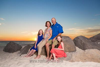 The Cole Family Sunset Photos Panama City Beach Florida