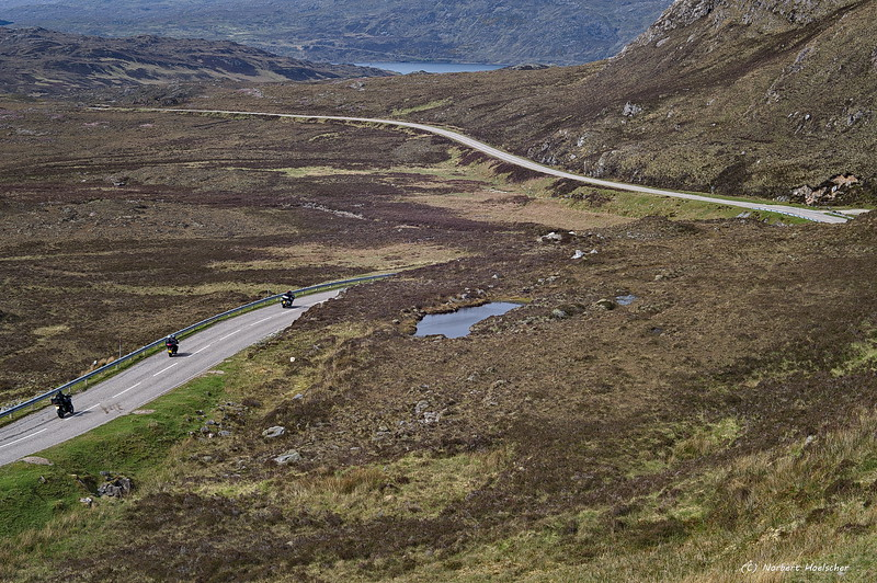 Wonderful roads in the Highlands