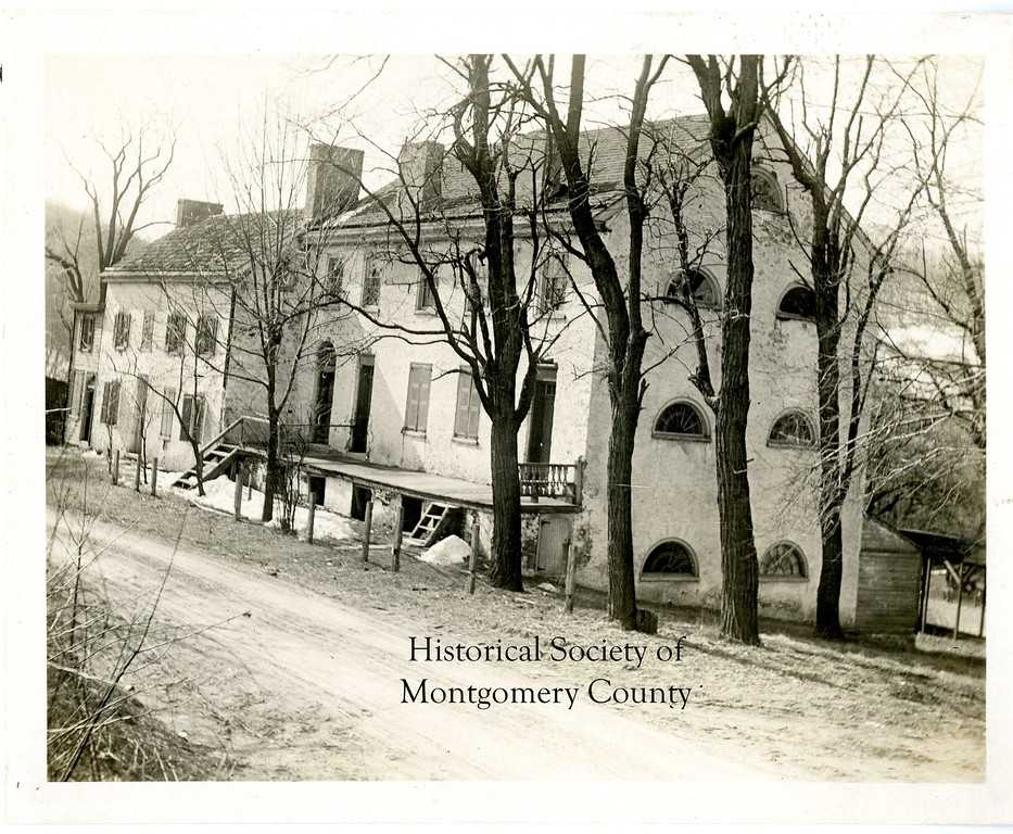 . This undated photo from the Historical Society of Montgomery County shows the Collegiate Institute in Upper Merion.