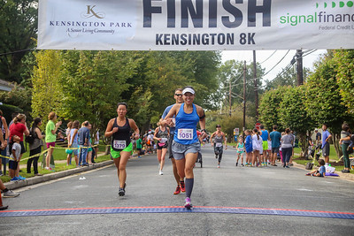 Kensington 8K 2018 Course and Finish Line