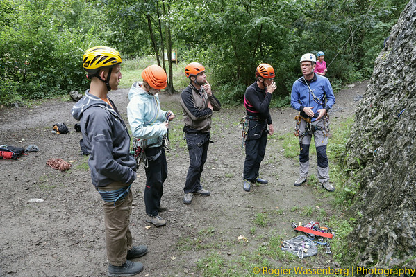 2013-09 Climbing in Hotton (B)