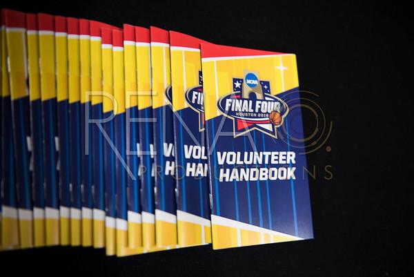 NCAA Final Four: Volunteer orientiation